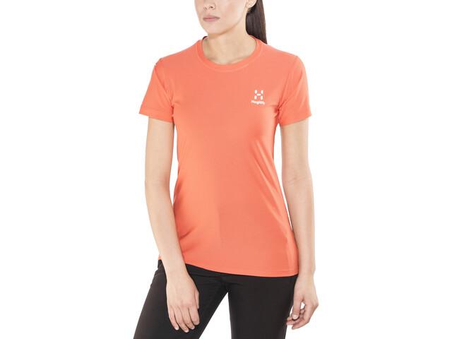 Haglöfs L.I.M Tech - Camiseta manga corta Mujer - naranja